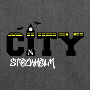 Stockholm city - Shoulder Bag made from recycled material