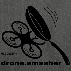 drone-Smasher - Borsa in materiale riciclato