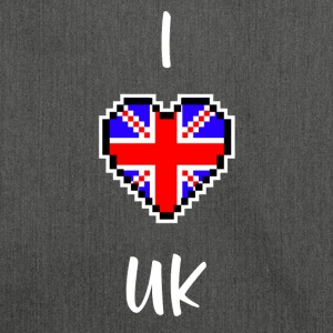 I love UK - Schultertasche aus Recycling-Material