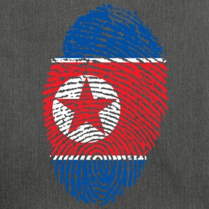 NORTH KOREA / NORTH KOREA / NORTH KOREA - Shoulder Bag made from recycled material