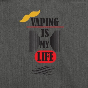 vaping is my life 3 - Schultertasche aus Recycling-Material