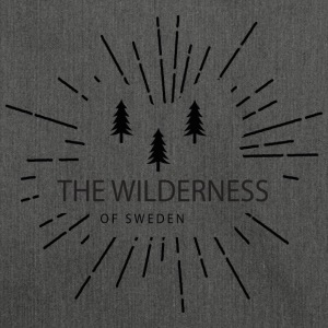 The Wilderness Of Sweden - Axelväska av återvinningsmaterial