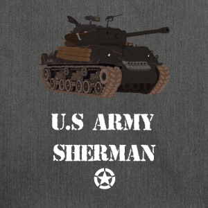 Sherman Tank WW2 - Shoulder Bag made from recycled material