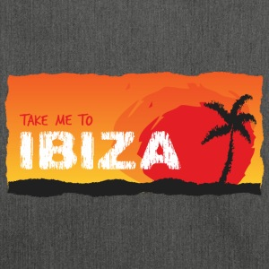 Take Me To Ibiza - Schultertasche aus Recycling-Material