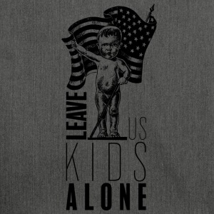 Leave us kids alone - Sac bandoulière 100 % recyclé