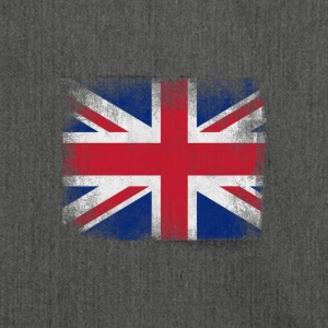 United Kingdom Flag Proud British Vintage Distress - Shoulder Bag made from recycled material