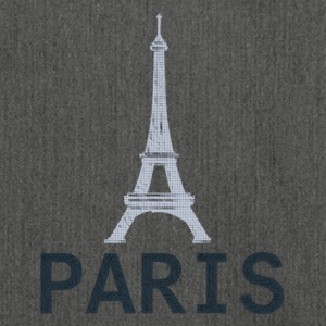 Style 2 Paris Tour Eiffel - Shoulder Bag made from recycled material