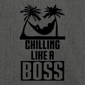 Chilling like a BOSS - Schultertasche aus Recycling-Material