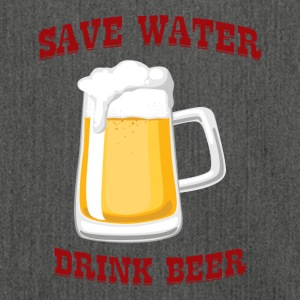 Birra - Save Water, Birra Drink - Borsa in materiale riciclato