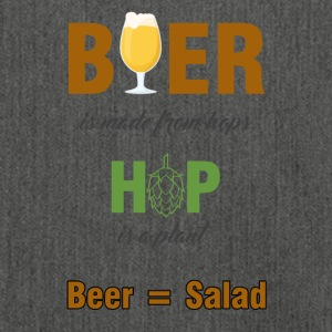 Beer - Beer is made from hops ... - Shoulder Bag made from recycled material