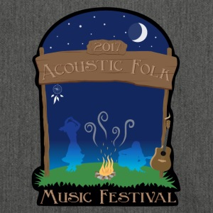 Acoustic Folk Music Festival - Shoulder Bag made from recycled material
