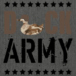 Duck army - Shoulder Bag made from recycled material