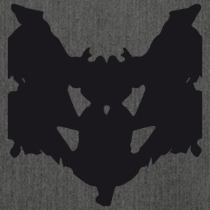 rorschach1 - Shoulder Bag made from recycled material
