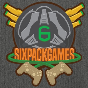 Sixpack Games Logo - Shoulder Bag made from recycled material