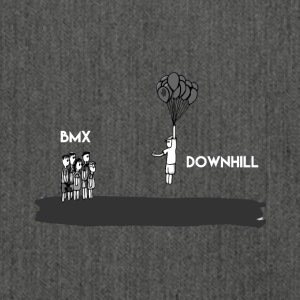 Downhill Lover - T-Shirt & Hoody - Shoulder Bag made from recycled material