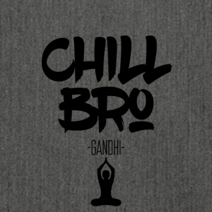 Chill Out Bro - Skuldertaske af recycling-material