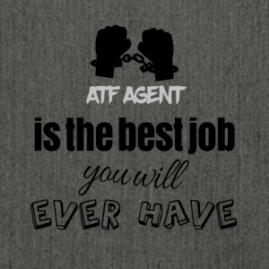 ATF Agent is the best job you will ever have - Schultertasche aus Recycling-Material