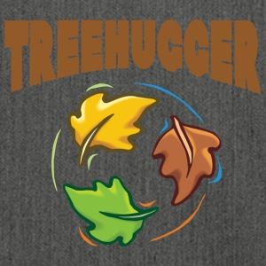 Earth Day TreeHugger - Shoulder Bag made from recycled material