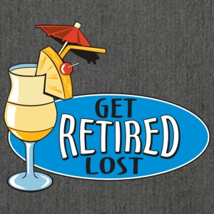 Retired Get Lost! - Schultertasche aus Recycling-Material