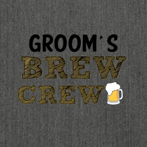 JGA / Bachelor: Groom's Brew Crew - Shoulder Bag made from recycled material