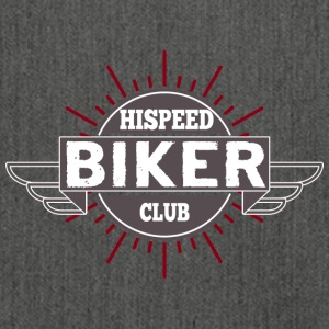 Biker HiSpeedClub - Shoulder Bag made from recycled material