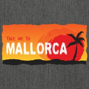 Take Me To Mallorca - Schultertasche aus Recycling-Material