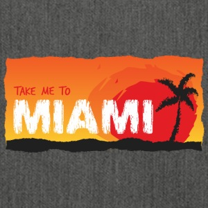Take Me To Miami - Schultertasche aus Recycling-Material
