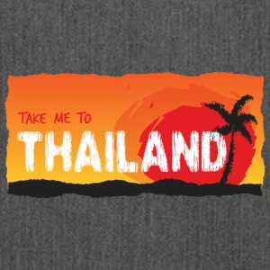 Take Me To Thailand - Schultertasche aus Recycling-Material