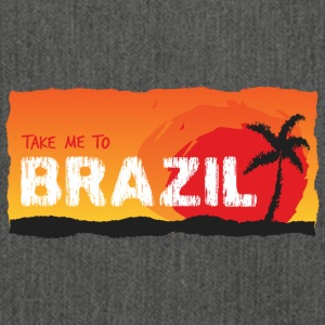 Take Me To Brazil - Schultertasche aus Recycling-Material