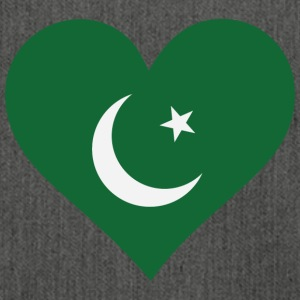 A Heart For Pakistan - Shoulder Bag made from recycled material