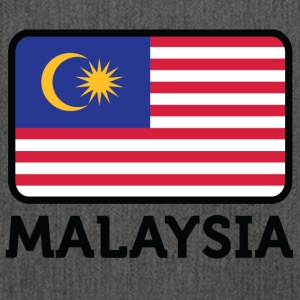 National Flag Of Malaysia - Axelväska av återvinningsmaterial