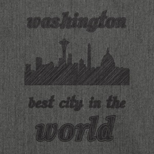 Washington Best city in the world - Shoulder Bag made from recycled material