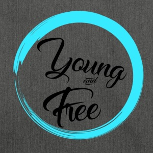 Young and Free - Sac bandoulière 100 % recyclé