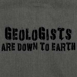 Geologen sind Down To Earth - Schultertasche aus Recycling-Material