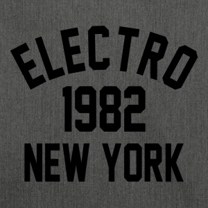 Electro 1982 in New York - Schultertasche aus Recycling-Material