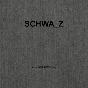 SCHWA_Z - Schultertasche aus Recycling-Material