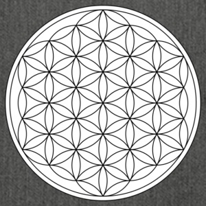Flower of Life - Skulderveske av resirkulert materiale