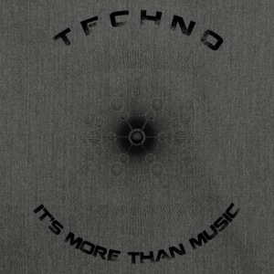 TECHNO - IT'S MORE THAN MUSIC - Shoulder Bag made from recycled material