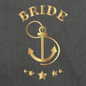 Bride Anchor design - Sac bandoulière 100 % recyclé