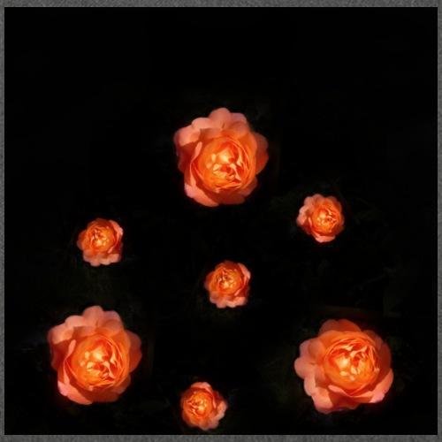 Gott ist gut - Rose Orange - Schultertasche aus Recycling-Material