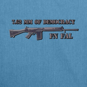 fn fal fan t shirt 7.62 mm of democracy - Shoulder Bag made from recycled material
