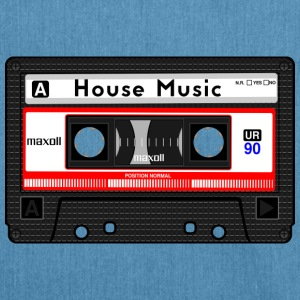 HOUSE MUSIC CASSETTE - Borsa in materiale riciclato