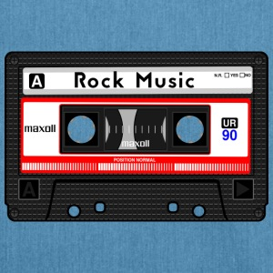 ROCK MUSIC CASSETTE - Borsa in materiale riciclato