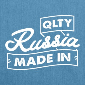 QLTY MADE IN RUSSIA - Shoulder Bag made from recycled material