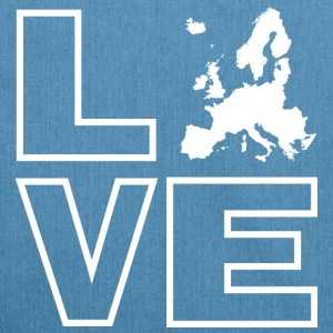 Love Europe - Schultertasche aus Recycling-Material