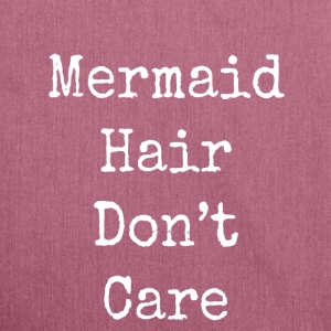mermaid hair don't care - Shoulder Bag made from recycled material