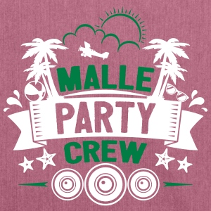 Malle Party Crew - Skuldertaske af recycling-material