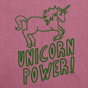 Unicorn - Power! - Borsa in materiale riciclato