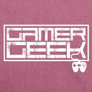 Gamer - Gamer Geek - Shoulder Bag made from recycled material