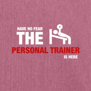 Have No Fear The Personal Trainer Is Here - Axelväska av återvinningsmaterial